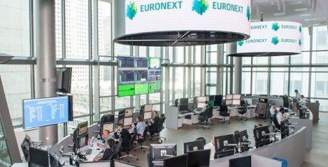 salle des marchés d'euronext à La Défense